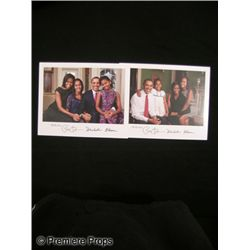 Lot of Signed President & Michelle Obama Photos