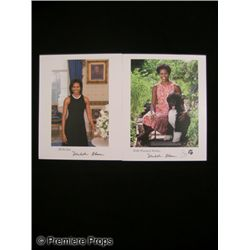 Lot of Signed Michelle Obama Photos