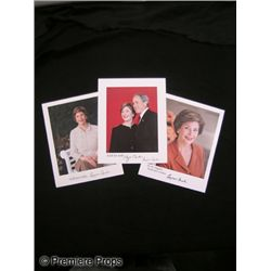 Lot of Signed President & Laura Bush Photos