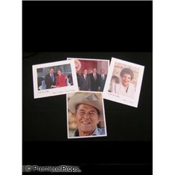 Lot of Signed President & Nancy Reagan photos