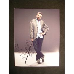 Hugh Laurie Signed Photo