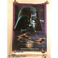 George Lucas Signed Star Wars Poster