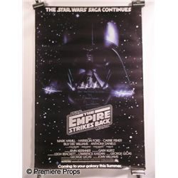 David Prowse Signed Empire Strikes Back Poster