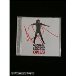 Michael Jackson Signed 'Number Ones' CD