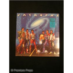 Michael Jackson Signed 'Victory' LP Cover