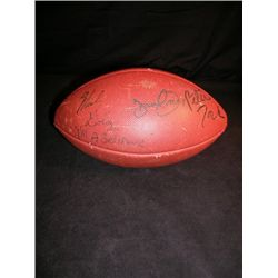 The Monkees Signed Football