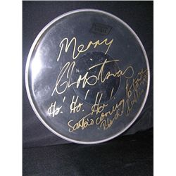 Blondie Chaplin Signed Drum Head
