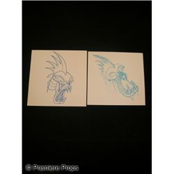 Disney's Hercules Animation Sketches