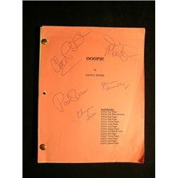 'Women vs. Men' Signed Script
