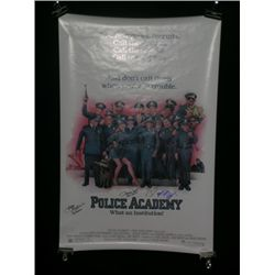 Police Academy Signed Poster