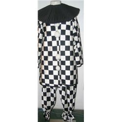 Pierrot Checker Men's Costume