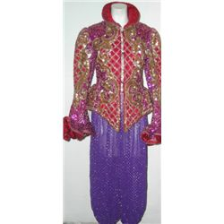 Elaborate Sequin Jester Costume