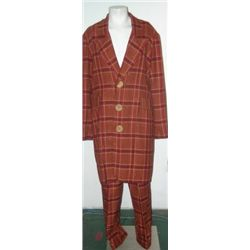Plaid Zoot Suit Costume