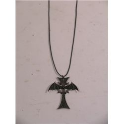 Blade Crucifix Necklace