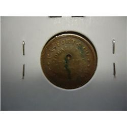 1864 CIVIL WAR TOKEN P.V. FORT & COMPANY