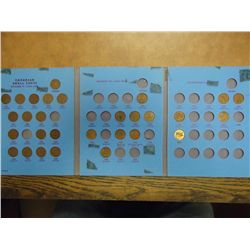 CANADIAN SMALL CENT SET 1920 & UP 29 COINS