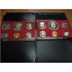 1974 & 75 US PROOF SETS (WITH BOXES)