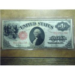 1917 US LARGE SIZE ONE DOLLAR LEGAL TENDER NOTE
