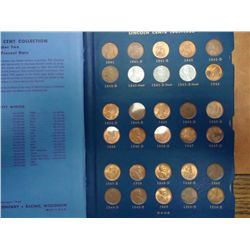 LINCOLN CENTS 1941-74 ALBUM LOTS OF UNCS 89 COINS