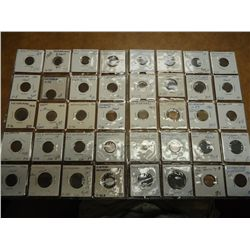 40 ASSORTED NETHERLANDS COINS (AS SHOWN)