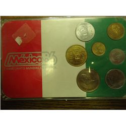 MEXICO 86 MINT SET (AS SHOWN)