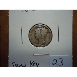 1926-S MERCURY DIME (SEMI-KEY)