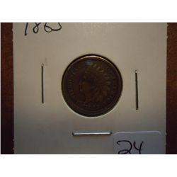 1863 INDIAN HEAD CENT (VERY FINE)