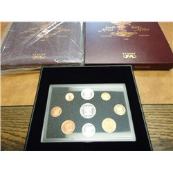 2-1995 SOUTH AFRICAN PROOF SETS