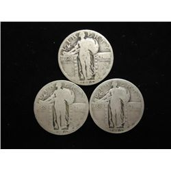 3-1926 STANDING LIBERTY QUARTERS