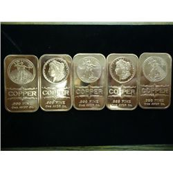 5-1 OZ COPPER INGOTS
