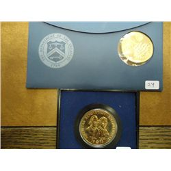 2 US MINT BICENTENNIAL MEDALS (AS SHOWN)