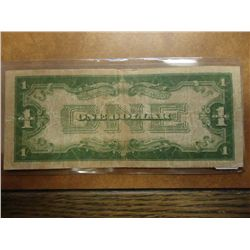 1934 $1 FUNNY BACK SILVER CERTIFICATE