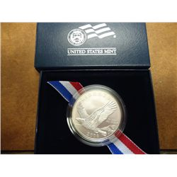 2008 BALD EAGLE UNC SILVER DOLLAR