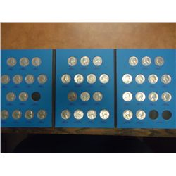 PARTIAL WASHINGTON QUARTER SET 1965-87 (40 COINS)