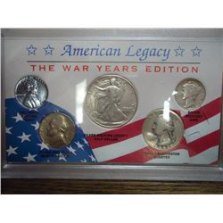 AMERICAN LEGACY WARRIORS SET STEEL CENT,