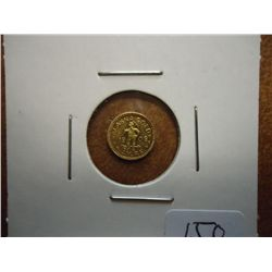 1909 ALASKA GOLD 1/4 DWT. SCARCE, LOOK THIS UP