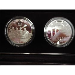 1996-P OLYMPIC 2 PROOF DOLLAR SET