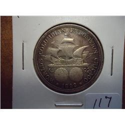 1892 COLOMBIAN EXPOSITION HALF DOLLAR