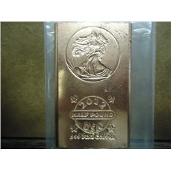 1/2 POUND ADVP COPPER INGOT
