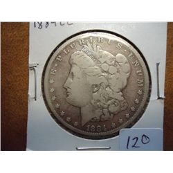 1884 -CC MORGAN SILVER DOLLAR