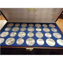 1976 CANADIAN OLYMPIC COIN SET 28 COINS (UNC)