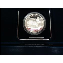 2001 CAPITOL VISITOR CENTER PF SILVER DOLLAR