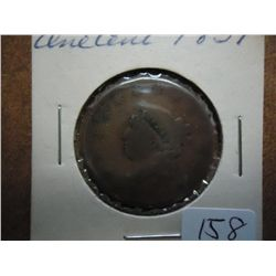 1831 US LARGE CENT