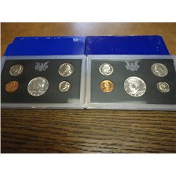 1968 & 69 US PROOF SETS (WITH BOXES)