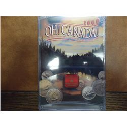 2000 OH! CANADA! UNC COIN SET
