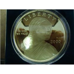 4 TROY OUNCE FINE SILVER SACAGAWEA ROUND