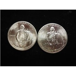 2-1982-D WASHINGTON HALF DOLLARS UNC .7234 OZ. ASW