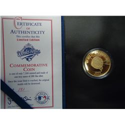 1997 WORLD SERIES 1 OUNCE SILVER ROUND