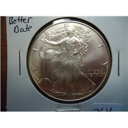 1996 AMERICAN SILVER EAGLE (UNC) (BETTER DATE)