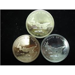 3-1973 CENTENNIAL OF CONFEDERATION MEDALS